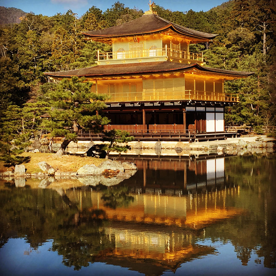 Kyoto kinkakuji by RyuADBrasil
