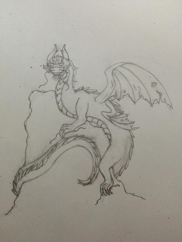 Dragon by Luvulite-Obsidian