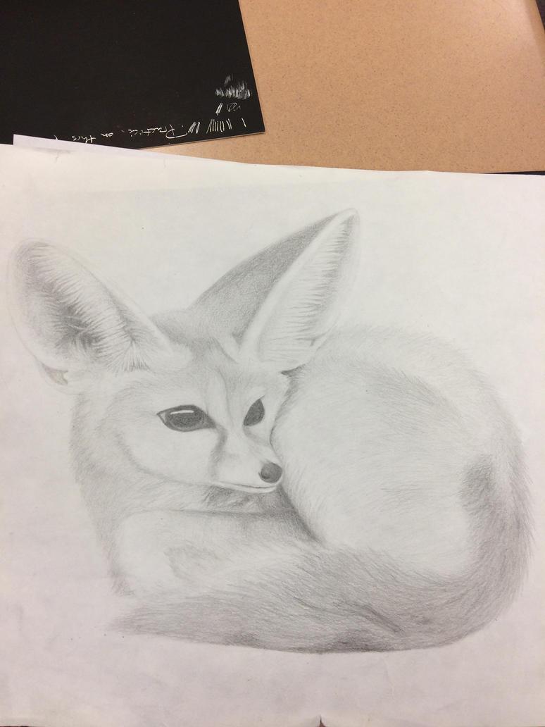 Fennec Fox by Luvulite-Obsidian