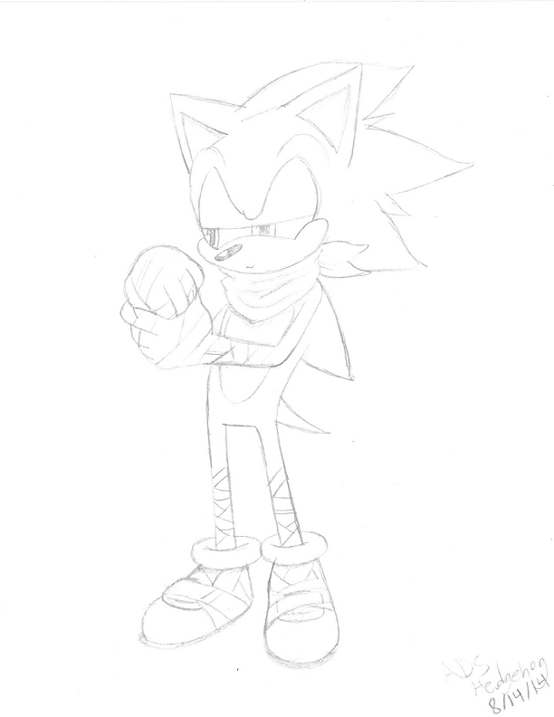 Boom Sonic: ''Well, there goes my weekend.''(Line) by ADSHedgehog