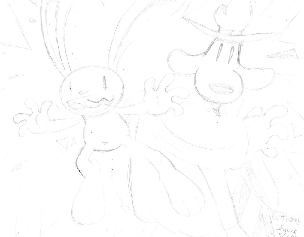 ''Sic them up, little buddy.'' (Sketch) by ADSHedgehog