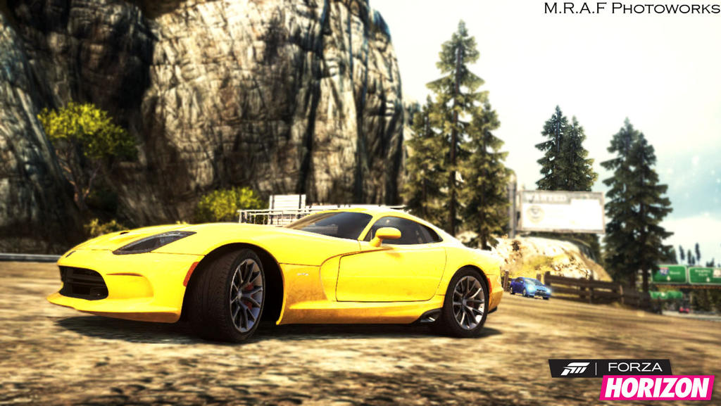 Need For Speed Most Wanted Dodge Viper SRT10 2013 By MRAFPhotoworks