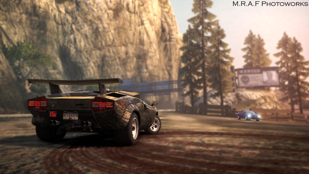 need for speed most wanted lamborghini countach by mrafphotoworks on deviantart. Black Bedroom Furniture Sets. Home Design Ideas