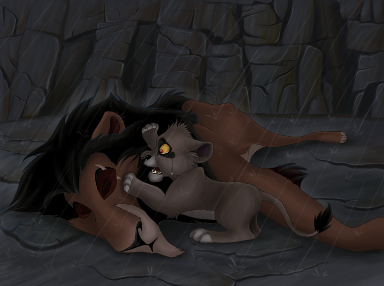 Death of Scar by Kala-Misfit