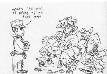 Junk Pile - Fallout 4 by Pegasicorn