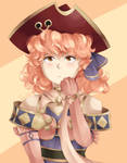Genny with the red tricorn