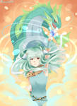 Ninian and her dragon form