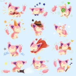 The 12 Skittys