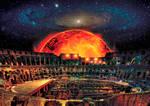 Matte Painting - Galaxy Coliseum
