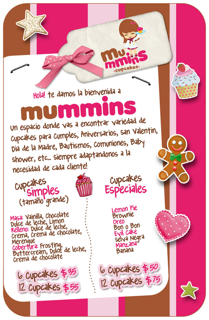 cupcake flyerFlyer Mummins Cupcakes by MyPink on DeviantArt fD0cysDy
