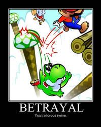 Betrayal Super Mario World by GGRock70