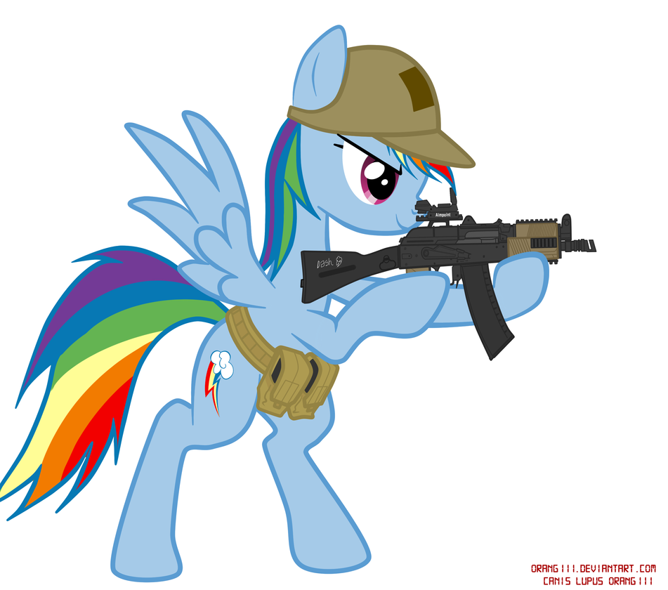 Tactical school Rainbow dash by orang111 on DeviantArt