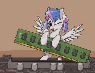 Assemble a RAM by orang111