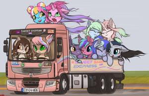 Sweet shipping express !! by orang111