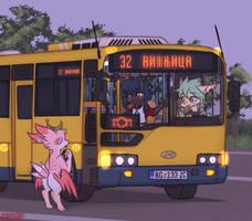 Town Bus