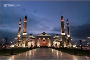 Alsaleh Mosque by Waeel