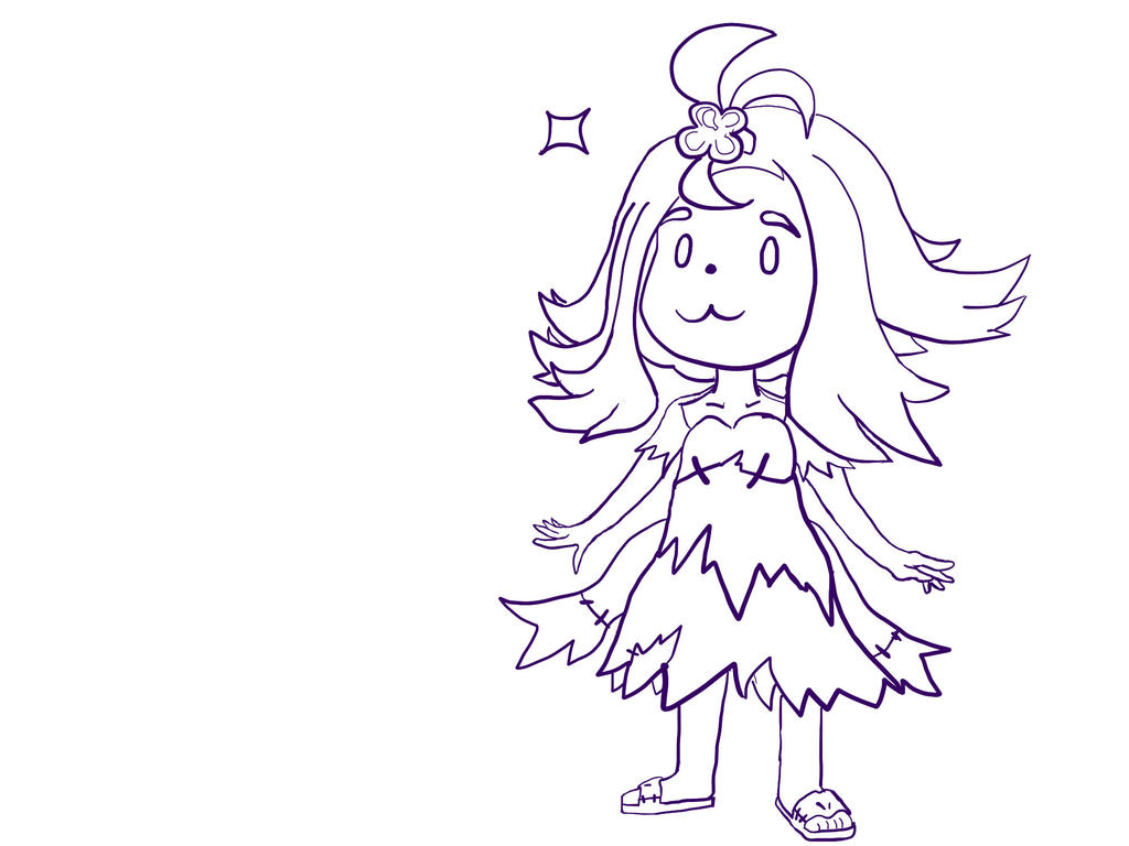 Acerola Lineart by OkkuDoesThings