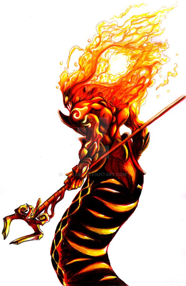 Salamander Fire by Zaigard on DeviantArt