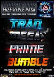 Transformers Photoshop Styles by Industrykidz