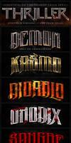 Thriller Photoshop Styles by Industrykidz