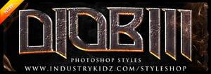 Thriller Photoshop Style pack