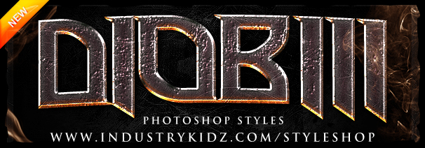 Thriller Photoshop Style pack by Industrykidz
