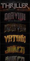 Thriller Photoshop Styles V2
