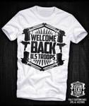 Guns Shield Vector T-shirt by Industrykidz