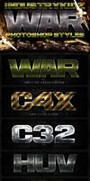 War Photoshop Layer Styles