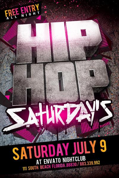 Hip Hop Flyer By Industrykidz On DeviantArt