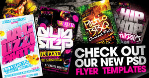 Check out our New Psd Flyer Print Templates