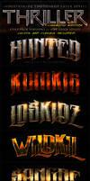 Thriller Cinematic Photoshop Layer Styles