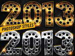 New Year Photoshop Styles