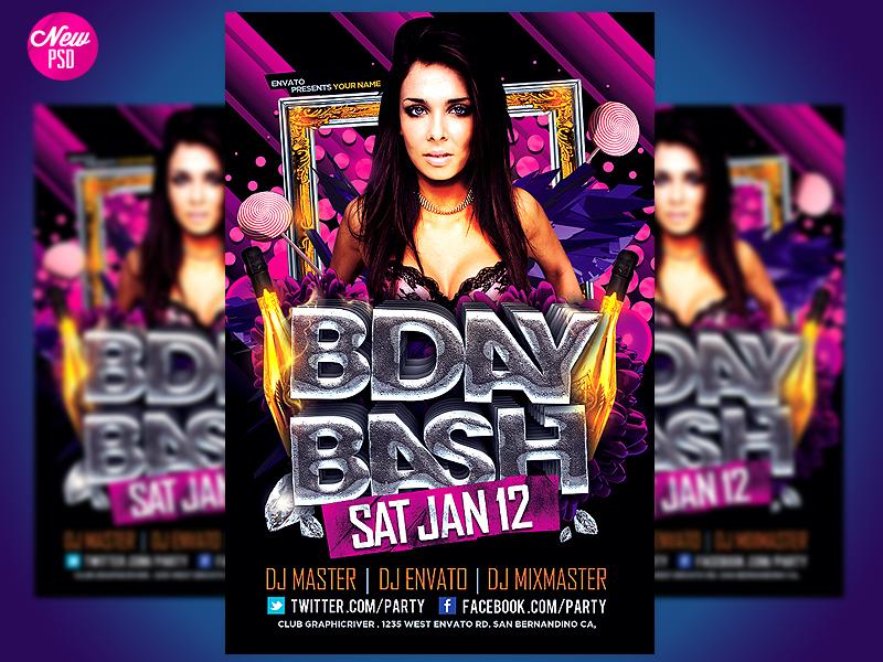 Birthday Flyer Templates Free Birthday Poster TemplatesBirthday – Birthday Flyer Templates Free