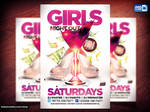 Girls Night Out Flyer PSD