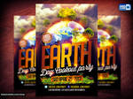 Earth Day PSD Flyer Design