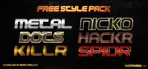 Free Photoshop Layer Styles