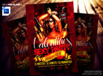 Valentines Day Flyer Template PSD