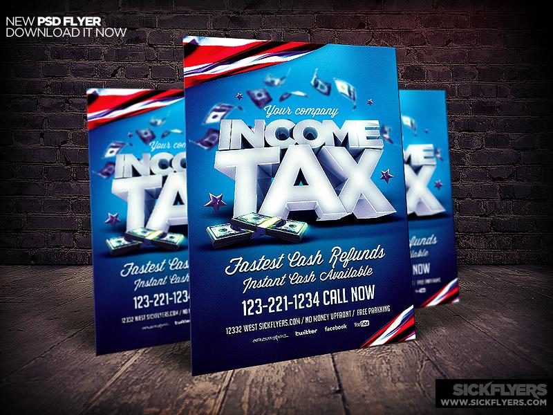 Income Tax Flyer Template By Industrykidz On Deviantart