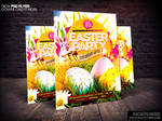 Easter Flyer Template PSD