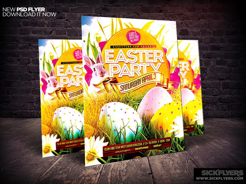 Easter Flyer Template Psd By Industrykidz On Deviantart