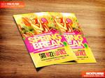 Spring Break Party Flyer Template PSD