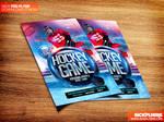 Hockey Match Flyer Template PSD