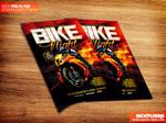 Bike Night Flyer Template PSD