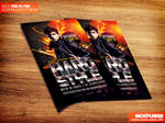 HardStyle Flyer Template PSD