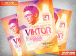 Electro Dance Music Flyer Template