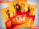 Cinco de Mayo Flyer Template PSD