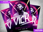 Special Guest Event Flyer Template PSD