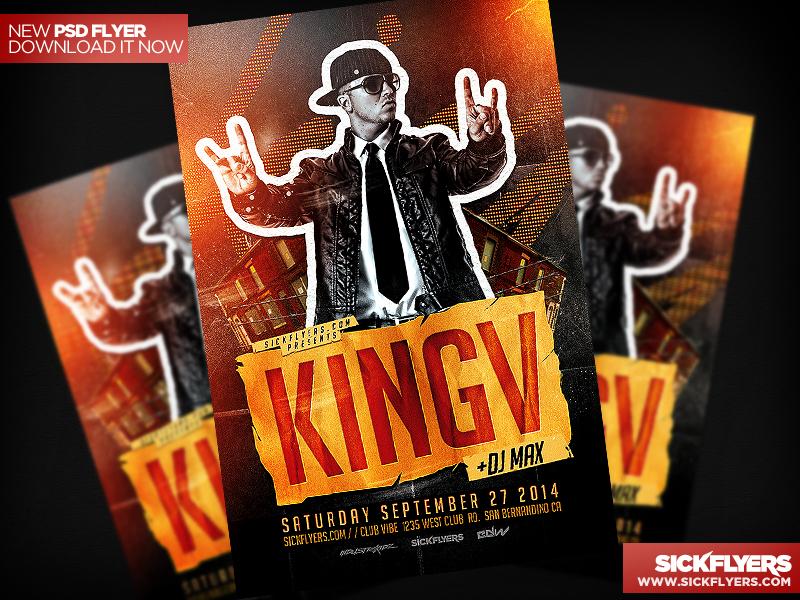 Hip hop flyer template psd by industrykidz on deviantart for Hip hop psd