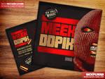 New Mixtape Cover Template PSD